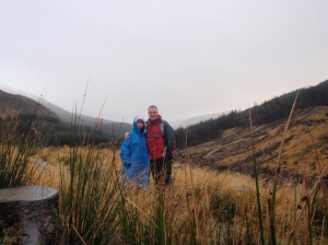 Surprise-- hiking in the rain in the UK.