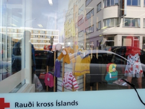 The Reykjavik Red Cross where you won't get in a slap fight over a sweater.