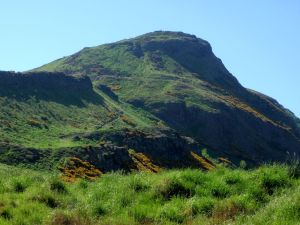 Arthur's Seat from the bottom.