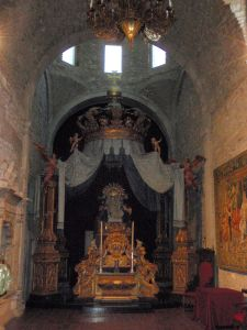 Inside Girona Cathedral